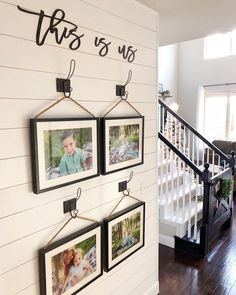 Unique Ways To Display Your Photos In Your Home :: Lincoln, Nebraska :: Southeast Nebraska Family Photographer — Dirt Road Photography - High School Senior Portraits & Family Photographer Displaying Family Pictures, Family Pictures On Wall, Display Family Photos, Family Wall Decor, Diy Wall Decor, Family Wall Collage, The Doors, Better Homes And Gardens, Canvas Wall Collage