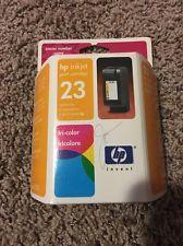 HP 23 Tri Color Printer Ink Cartridge Hewlett Packard C1823D Brand NEW ! Exp /03 Price: USD 5.95  | http://www.cbuystore.com/product/hp-23-tri-color-printer-ink-cartridge-hewlett-packard-c1823d-brand-new-exp-03/10167064 | United States