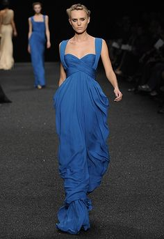 Elie Saab. Love a style like this for bridesmaid dresses.