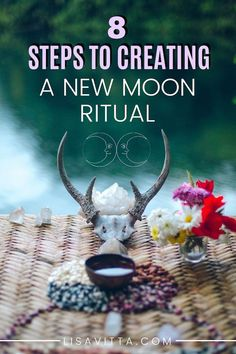 How To Create A New Moon Ritual| The new moon is a powerful time for new beginnings: new projects, new relationships, or a new perspective on an area in your life in which you feel stuck. |