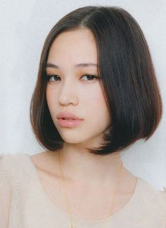 Half Japanese, half Caucasian model and actress Kiko Mizuhara, known for her work at major magazine publications such as ViVi and Nylon Japan, bubbly personality and signature short, blunt hair