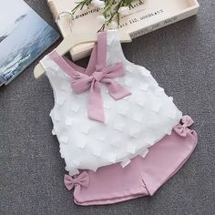 Humor Bear Baby Girl Clothes 2019 Summer New Girls Clothing Sets Kids Clothes Baby Bay Clothes Toddler Girl Coat + Pants Fashion Kids, Little Girl Fashion, Toddler Fashion, Toddler Outfits, Kids Outfits, Baby Outfits, Trendy Fashion, Latest Fashion, Women's Fashion