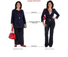 v-neck, short jacket. http://media.thefashioncode.com/flash/ba_slideshow/lg/3.jpg