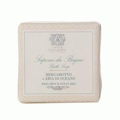 Antica Farmacista Exceptionally Moisturizing #BathSoap Bergamot & Ocean Aria.