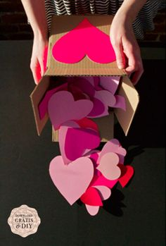 "A box of paper hearts with an idea for ""Date Night"" written on each one might be a nice valentine's day present along with concrete plans for the first one already made."