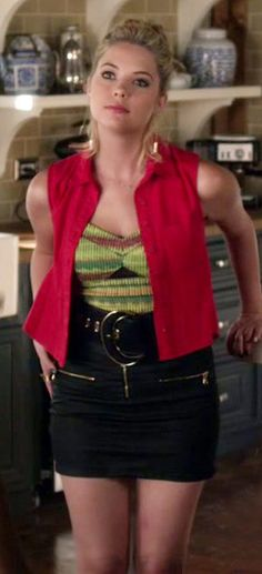 Pretty Little Liars Hanna, Pretty Little Liars Outfits, Hanna Marin, Fashion Tv, Fashion Outfits, Fashion Ideas, Georgina Sparks, Character Inspired Outfits, Spencer Hastings
