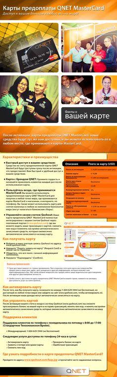 #QNET Prepaid #MasterCard [Russian]