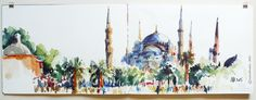 150808_03_Istanbul_MBleue_30x84   by 75marion