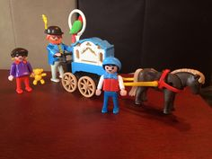 A personal favorite from my Etsy shop https://www.etsy.com/listing/223042122/playmobil-5550-victorian-organ-grinder