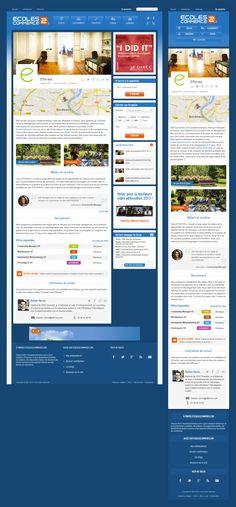 Page entreprise du site Ecoles2commerce.com