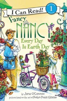 I Can Read Book 1 Fancy Nancy: Every Day Is Earth Day    By Jane O'Connor / Available at www.BookLodge.com - Lowest Priced English and Chinese Online Bookstore for Children and Parents Worldwide