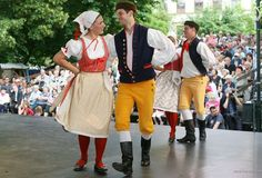 Traditional czech clothes.