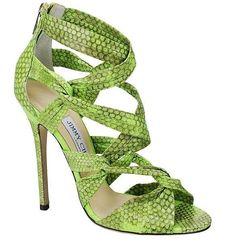 Collezione scarpe Jimmy Choo Primavera Estate 2013 - Sandali verdi