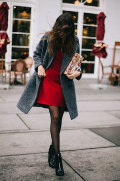 Tempting as it may be to wrap yourself up in a blanket and go into hibernation when it's cold, let these 25 winter date night outfits inspire you to pack your calendar with all of your favorite after-hours activities, without hesitation.