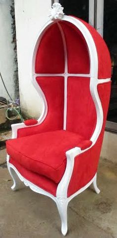 Gold Lion King Throne Chair Red Upholstery Thrones