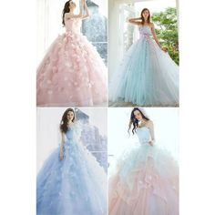 26 Ethereal Wedding Dresses That Look Like They Belong in Fairy Tales! wedding fairy tales 26 Ethereal Wedding Dresses That Look Like They Belong in Fairy Tales! Cute Prom Dresses, Dream Wedding Dresses, Ball Dresses, Wedding Gowns, Ball Gowns, Party Dresses, Wedding Bridesmaids, Colorful Prom Dresses, Short Dresses