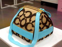 Coach Purse-CAKE!!! Love it!!!