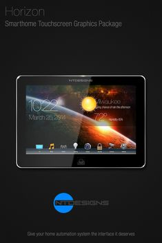 Home Theater Touchscreen Controller Graphics By Ntdesigns Automation System Easy To Use