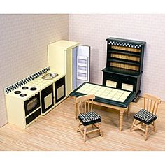 @Overstock - Your kitchen decor will always be in good taste with this charming 7-piece country kitchen set.  Designed with a tile topped table and plenty of counter space, the set includes appliances, a hutch with handcrafted period details.http://www.overstock.com/Sports-Toys/Melissa-Doug-Kitchen-Furniture-Play-Set/6217770/product.html?CID=214117 $29.49