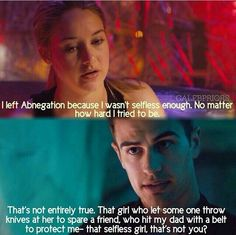 Wish this line was in Divergent!