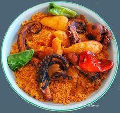 Recette tunisienne spaghettis aux poulpes recettes de cuisine tunisienne pinterest - Recette cuisine couscous tunisien ...