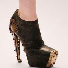 Strange shoe