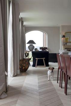 Oak modern parquet Flooring