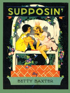 c. 1930, illus. by Carrie dudley. Via http://www.alephbet.com