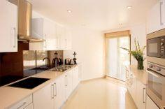 The Belmar Spa & Beach Resort, Lagos, Portugal: kitchen in a 3-bed apartment {Oceanico Developments}