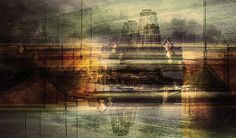 'And another day ends.' by Stephanie Jung. Frankfurt am Main, Germany 2008 Multiple Exposure Photography, Germany, Frankfurt, Painting, Image, Art, Photography, Art Background, Painting Art