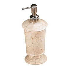 Creative Home Champagne Marble Pedestal Soap Dispenser -- You can get more details by clicking on the image.