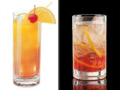 """Bachelorette-inspired cocktails! Try the First Impression Rose (with raspberry vodka) or the Southern Belle (a fruity lemonade cocktail) from mixologist Robert """"Bobby G"""" Gleason. Recipes here: http://www.people.com/people/article/0,,20595401,00.html"""