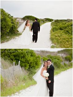 I love the bride's dress and the setting is absolutely gorgeous.