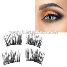 ba9e8ad96c0 Private Label Magnetic real Mink fur Eyelashes False Lash Effect, False  Lashes, Fake Eyelashes