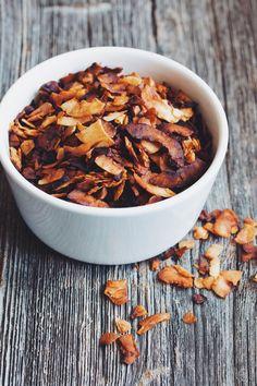 coconut fakin' bacon #vegan | RECIPE on hotforfoodblog.com