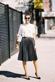 cool New York Fashion Week SS 2016....Giovanna (Vanessa Jackman)