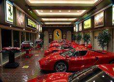The Ferrari sales room - Italy