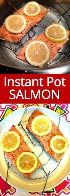 This Instant Pot salmon is amazing and ready in 3 minutes! So tender and juicy, this is the only salmon recipe I'll ever need! Instant Pot salmon is so tender and juicy and cooks in 3 minutes! This is the easiest way of cooking salmon and tastes amazing! Instant Pot Pressure Cooker, Pressure Cooker Recipes, Pressure Cooking, Slow Cooker, Fish Recipes, Seafood Recipes, Cooking Recipes, Healthy Recipes, Seafood Dip