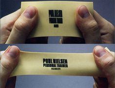 Creative business card for Poul Nielsen