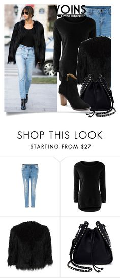 """Yoins:he is not cool as me"" by yoinscollection ❤ liked on Polyvore featuring Theory and Valentino"