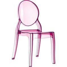 Pink! Louis XVI Ghost Chair - Philippe Starck