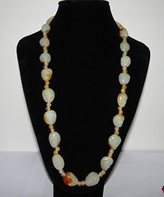 "31"" China Certificated Nature Nephrite Hetian Jade 18 Arhats Necklace Pendants, http://www.amazon.com/dp/B013FIF2H4/ref=cm_sw_r_pi_n_awdm_n3YDxbRZH9692"