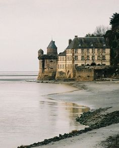 Mont Saint-Michel, Normandy, France. #travel, #france