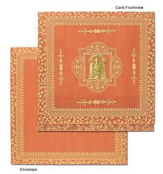 South Indian wedding invitations