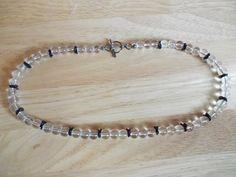 Clear quartz necklace £7.50
