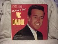 """VIC DAMONE YOURS FOR A SONG """"VINTAGE"""" LP"""