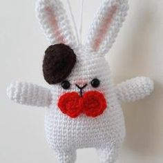Gentleman Bunny pattern - printable PDF