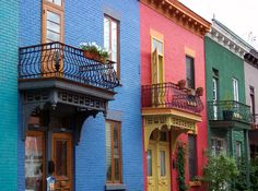 Colorful Montreal - Montreal, Quebec