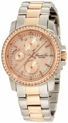 Kenneth Cole New York Women's KC4833 Dress Sport Rose Gold Dial and Bracelet men's Watch Kenneth Cole. $94.20