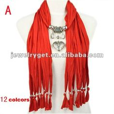 Aliexpress.com : Buy Christmas Gift! jewellery charm pendant scarves and wraps,12 colors.NL 1790 from Reliable polyester scarf suppliers on Well Done Fashion Jewelry Co.,Ltd. $9.26